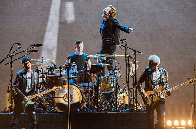 U2 Merilis Album Songs of Experience