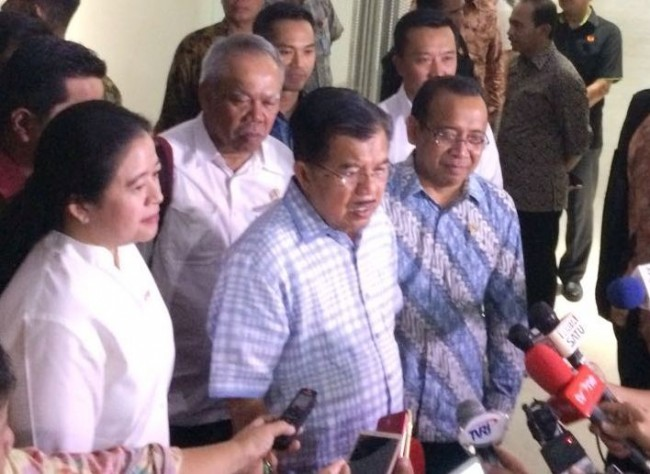 Jusuf Kalla Buka Test Event Road to Asian Games 2018