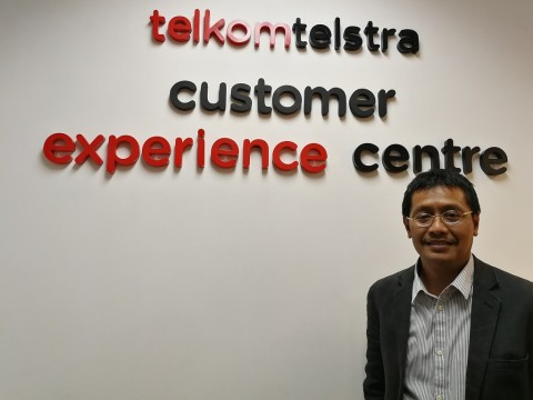 Chief Product and Synergy Officer  Telkomtelstra Agus F. Abdillah.