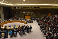 US Isolated at UN After Declaration of Jerusalem