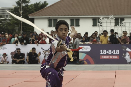 Atlet Promosikan Asian Games 2018