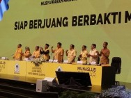 Airlangga to Lead Golkar until 2019