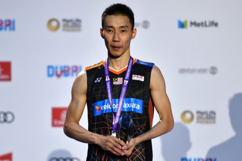 Lee Chong Wei. (AFP PHOTO / GIUSEPPE CACACE)
