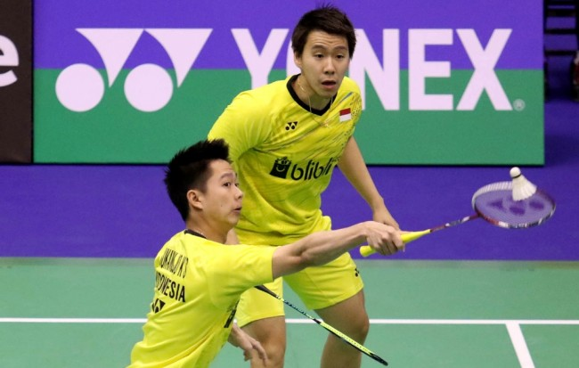 April: Marcus/Kevin Pertahankan Gelar Juara India Open 2017