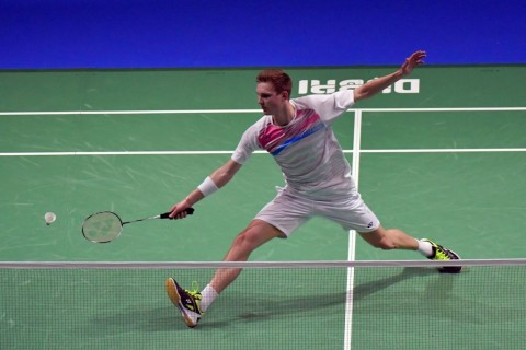 Viktor Axelsen. (AFP PHOTO / GIUSEPPE CACACE)