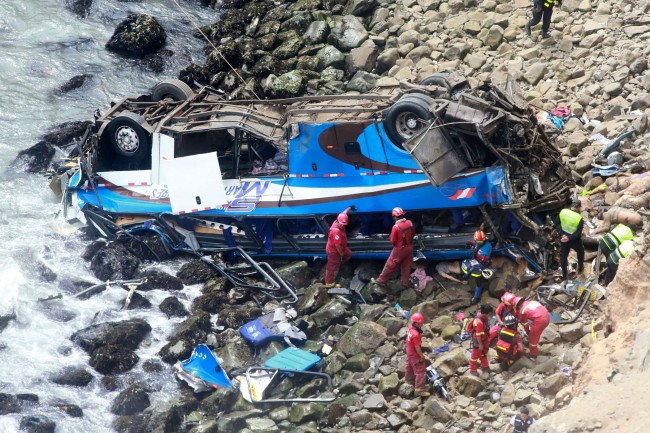 Peru Bus Accident Kills 48: Police