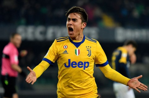 Paulo Dybala. (Foto: AFP PHOTO / ALBERTO PIZZOLI)