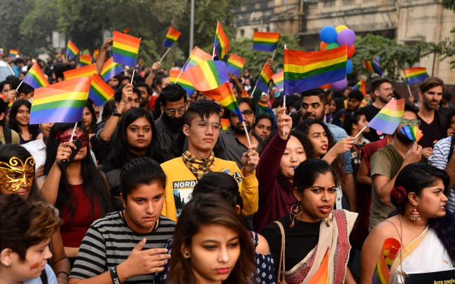 India's Top Court to Review Gay Sex Ban