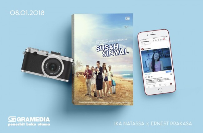 Film Susah Sinyal Rilis Versi Novel