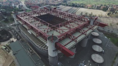 Stadion San Siro (Google/YouTube)