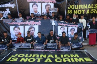 Myanmar Police Charge Reuters Reporters under Official Secrets Act