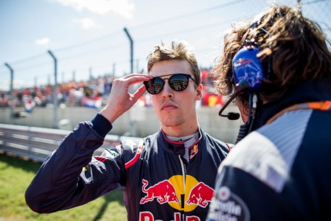 Daniil Kvyat. (Foto: Peter Fox/Getty Images/AFP)