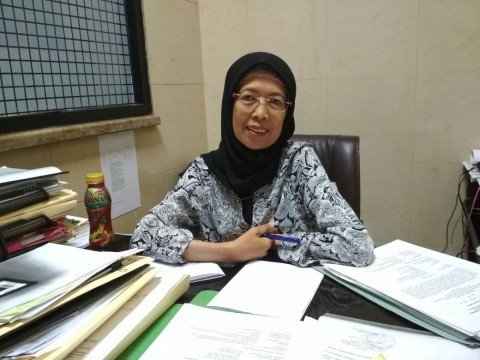 Kepala Seksi Pelayanan Monas, Endrati Fariani--Medcom.id/Deny Irwanto