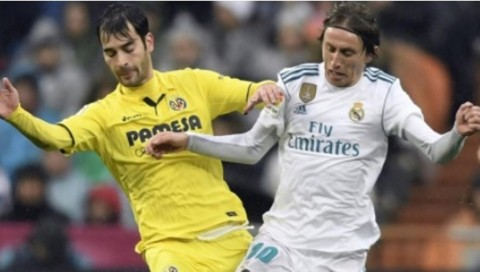 Suasana Real Madrid vs Villarreal. (Foto; BBC)