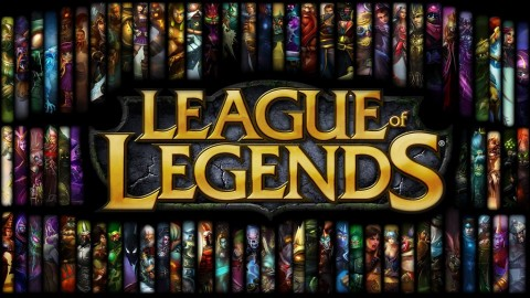 Game League of Legends yang mengusung genre MOBA.