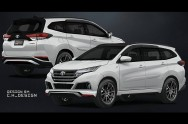 Gaya Sporty All New Toyota Rush Versi C.H_Design
