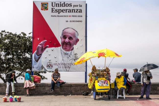 Pope Begins Latin America Visit in Chile Monday