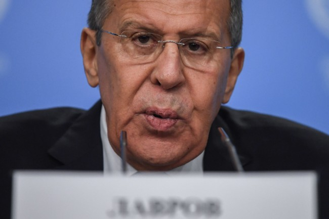 Moscow 'Understands' Palestinian Anger at Trump: Lavrov