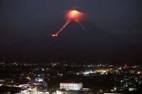 Philippine Volcano 'Fireworks' Draw Tourists as Residents Flee