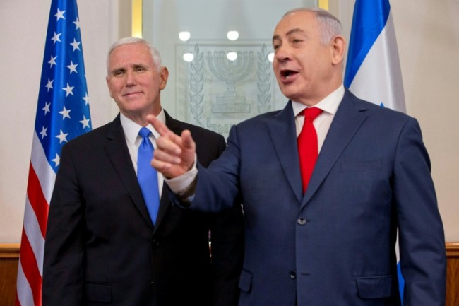 Pence in Jerusalem Hopes for 'New Era' despite Palestinian Snub