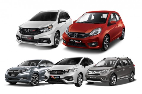 Honda Recall 5 model di Indonesia. Honda