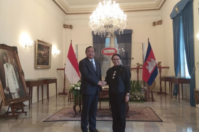Indonesia, Cambodia to Celebrate 60 Years of Ties Next Year
