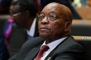 South Africa's ANC to Hold Talks on Zuma's Future