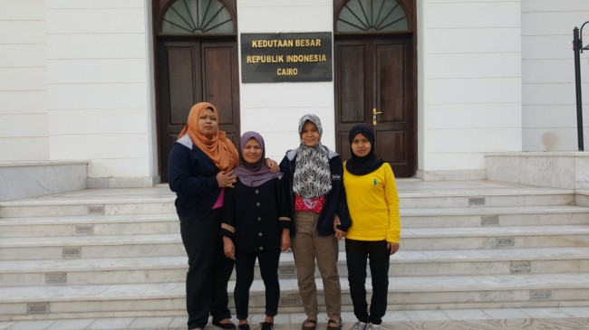 Indonesian Embassy in Cairo Repatriates 4 Illegal Migrants