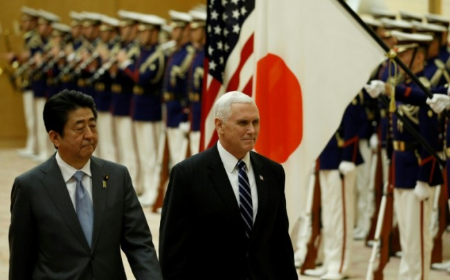 Pence Announces 'Toughest' US Sanctions on North Korea