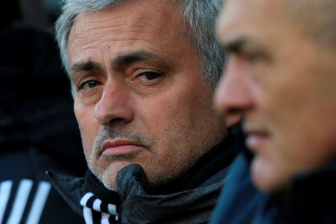 Jose Mourinho (AFP PHOTO / Lindsey PARNABY)