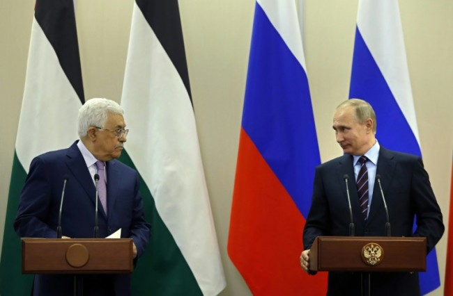 Palestinian Leader Seeks Russia's Backing over Jerusalem