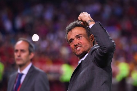 Luis Enrique (AFP PHOTO / Josep LAGO)