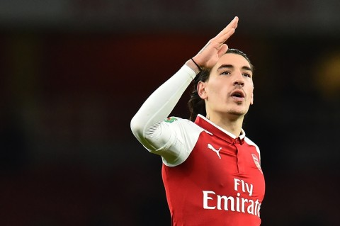 Arsenal Hector Bellerin (AFP PHOTO / Glyn KIRK)