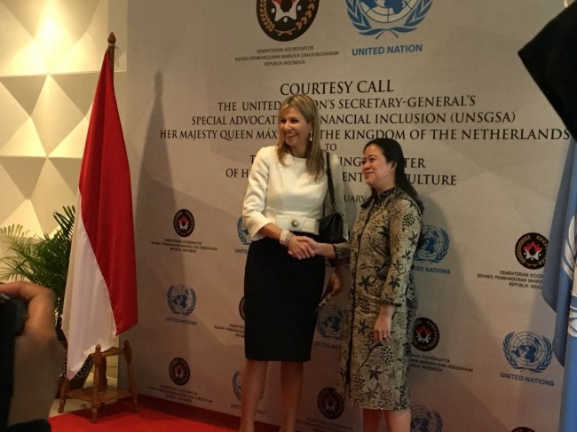 Puan Receives Dutch Queen, Talks about Financial Inclusion