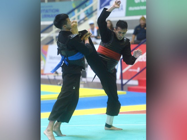 Atlet Silat Indonesia Siap Latih Speed Tendangan di Korea