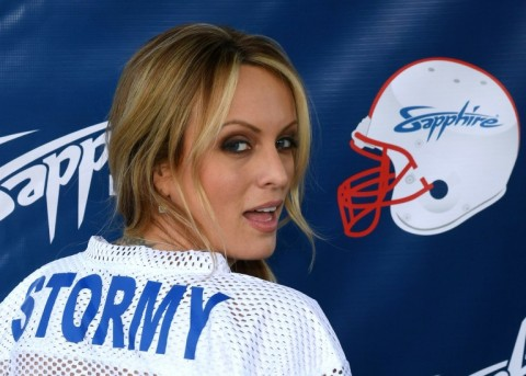 Donald Trump's lawyer told the New York Times the $130,000 payment to Stormy Daniels was legal. (Photo:AFP/Getty Images North America./Ethan Miller)
