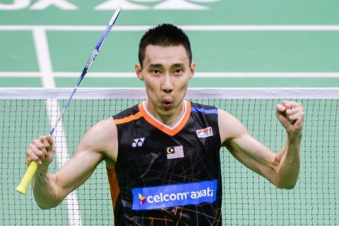 Lee Chong Wei. (Foto: AFP/Isaac Lawrence)