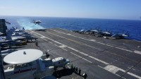 'US Presence Matters' Says Admiral on Carrier in the South China Sea