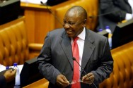 South Africa Lawmakers Choose Ramaphosa to Succeed Tainted Zuma