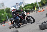 First Ride All New CB150 Verza, Sport Murah dan Lincah