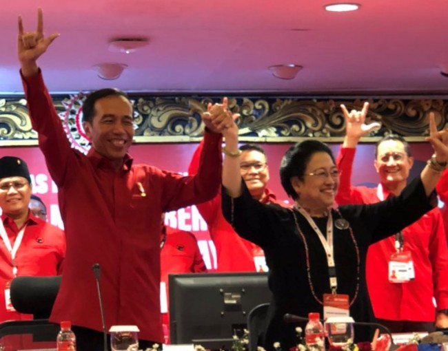PDI Perjuangan Declares Support for Jokowi in 2019 Election