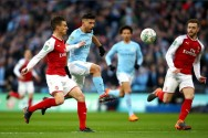 Babak 1: Aguero Bawa City Ungguli Arsenal