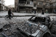 Russia Calls Daily Truce in Battered Syria Enclave