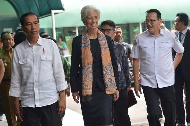 Lagarde Lauds Indonesia's Health Care System