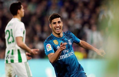 Marco Asensio. (Foto: AFP/Cristina Quicler)