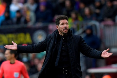 Diego Simeone (AFP PHOTO / LLUIS GENE)