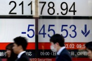 Asian Markets Turned Negative as Trump Fans Trade War Fears
