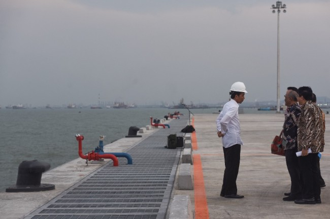Jokowi to Inaugurate First Fully Integrated Industrial Zone