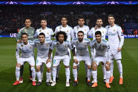 Skuat Real Madrid. (Foto: AFP/Franck Fife)