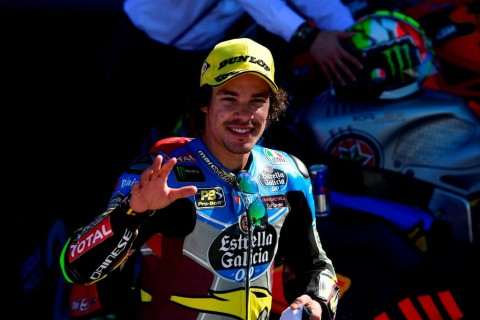 Franco Morbidelli (Foto: AFP PHOTO / PIERRE-PHILIPPE MARCOU)